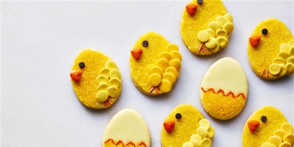 Martha's Easter Chick Cookies