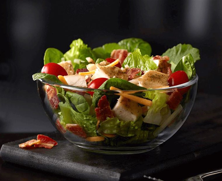 McDonald's: Bacon Ranch Grilled Chicken Salad