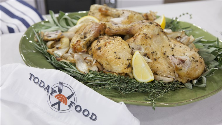 al Roker's perfect roast chicken on TODAY