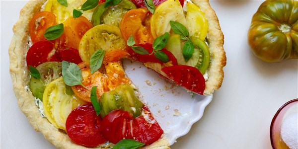 Lett Heirloom Tomato Tart