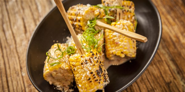 Sunda Southeast Asian Street Corn