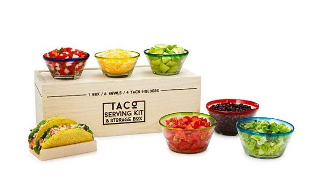 UncommonGoods taco serving kit