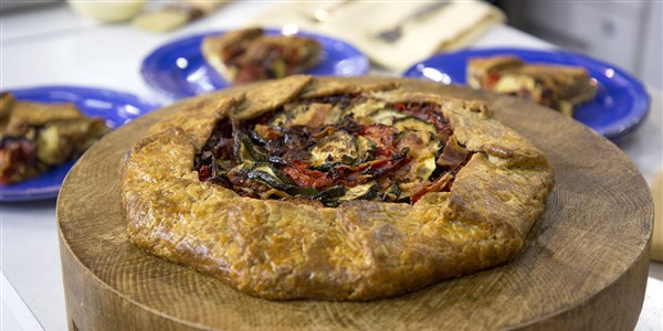 Sommer Vegetable Galette