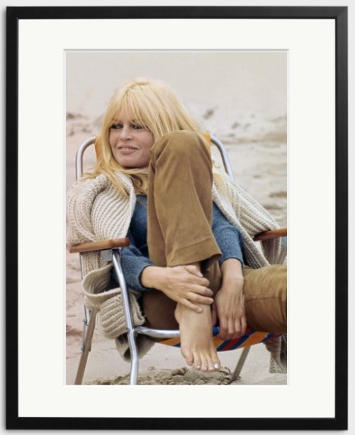 Bardot Takes A Break photo print from Sonic Editions