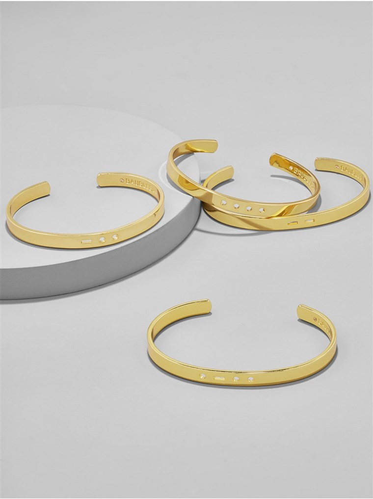 BaubleBar Morse Code bangle