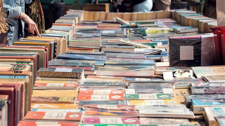 Sul Bank Second Hand Book Market.