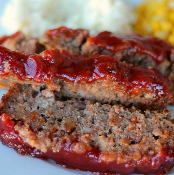 Søt and tangy meatloaf