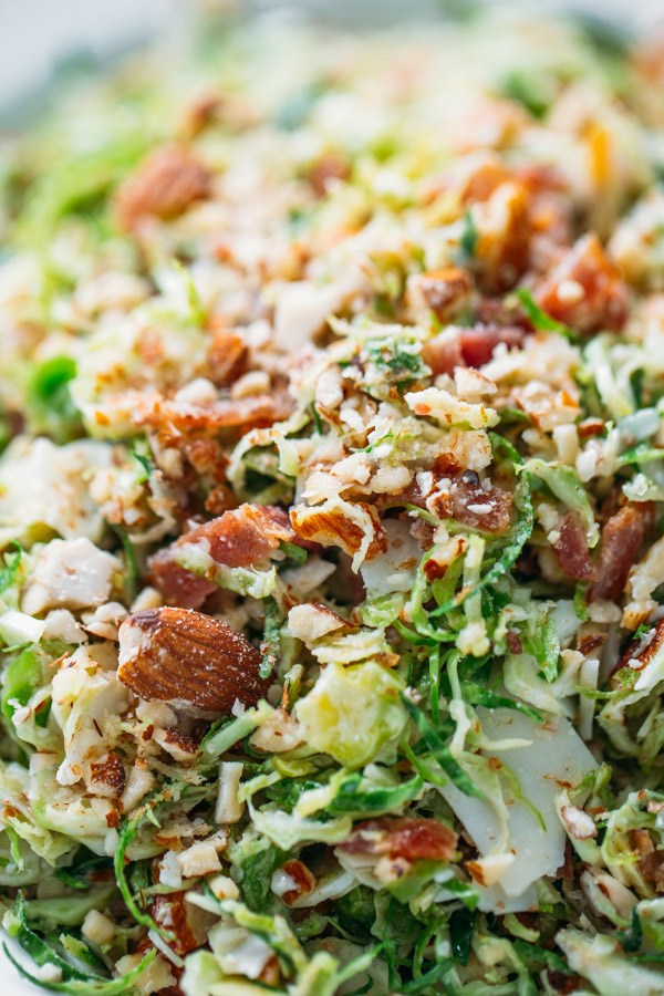 Spek and Brussels Sprout Salad