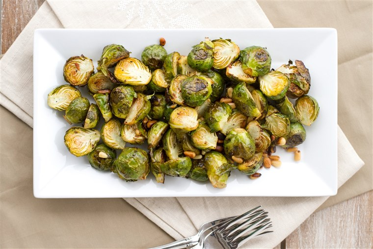 Citroen Roasted Brussels Sprouts