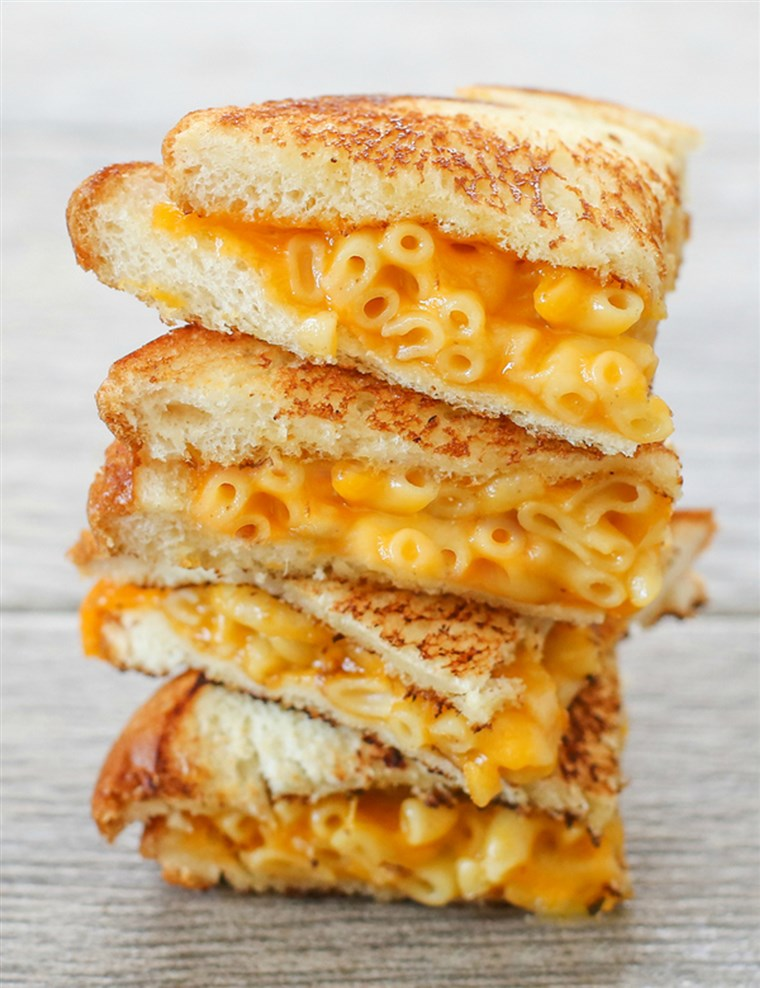 Grillowany Macaroni and Cheese Sandwich