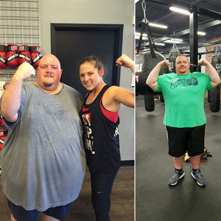 På almost 600 pounds, Mike Powers' health was failing. In only 15 months he has shed 250 pounds.