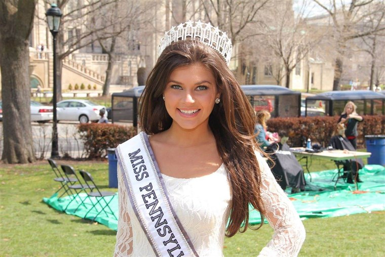 Gatto hopes to win the Miss USA title in order to better help spread the word on sexual assault awareness.