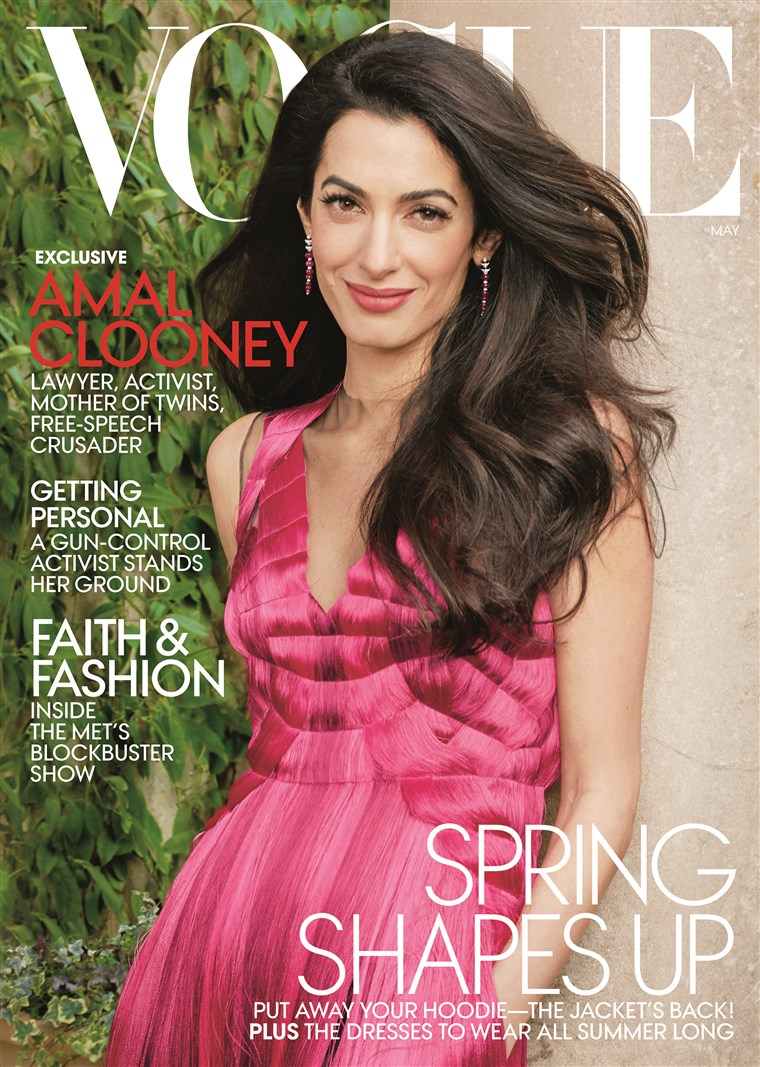 Amal Clooney's Vogue Cover