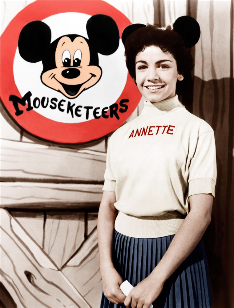 Annette Funicello in an undated photo from her