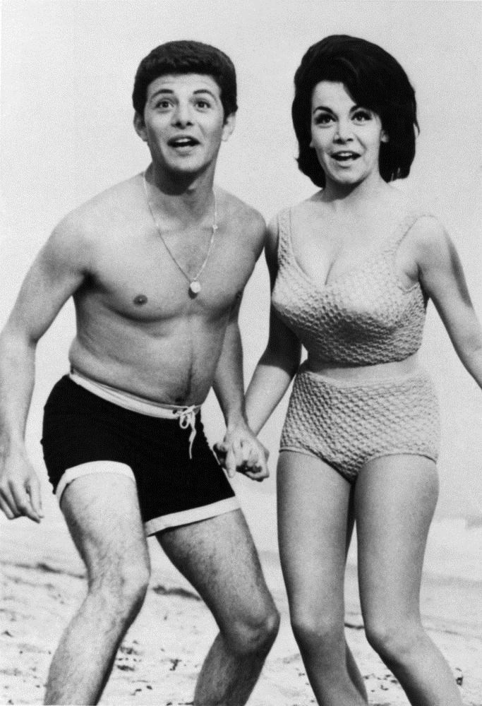 Annette Funicello starred with Frankie Avalon in a series of