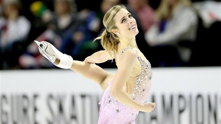 Ashley Wagner at the 2018 Prudential U.S. Figure Skating Championships