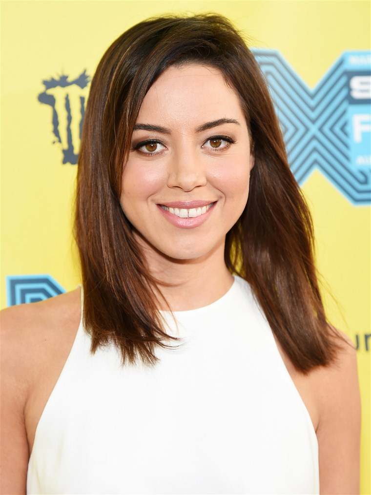 Aubrey Plaza attends the