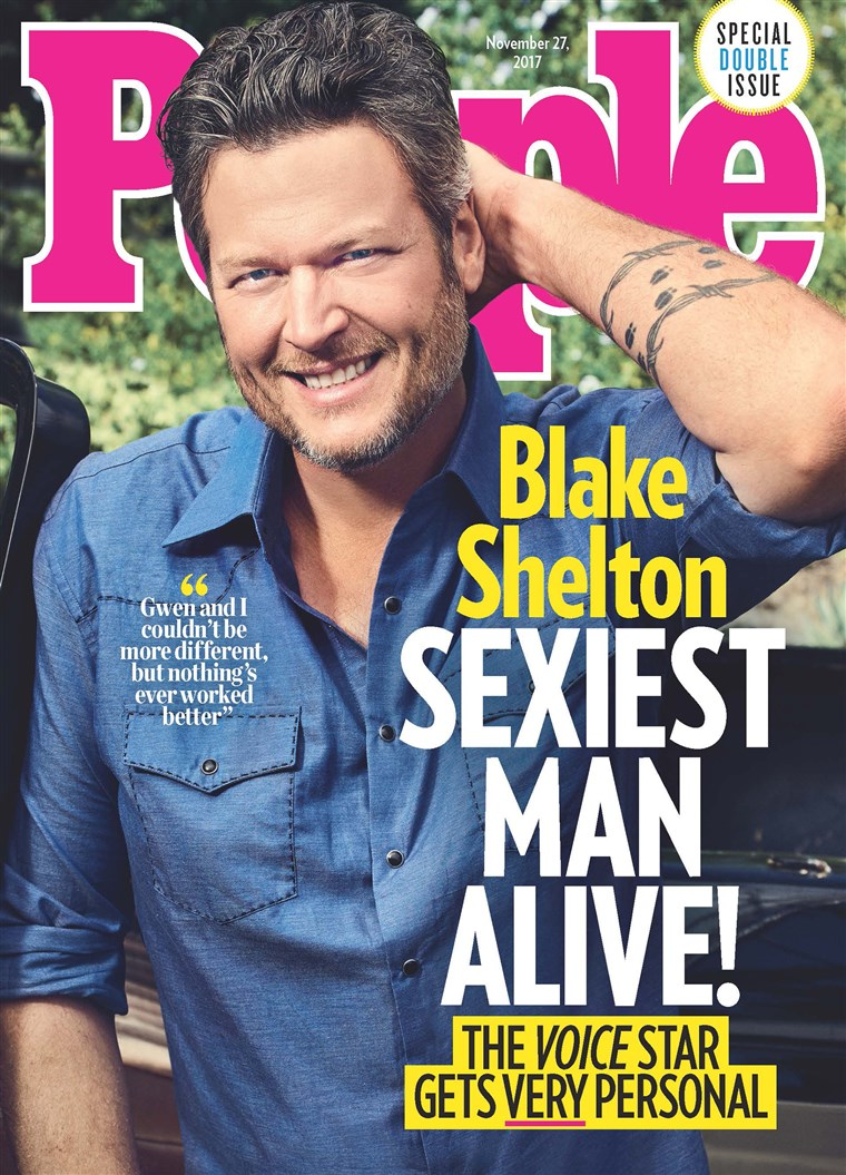 Blake Shelton is the Sexiest Man Alive by People Magazine