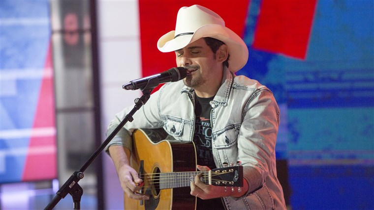 Brad Paisley on TODAY