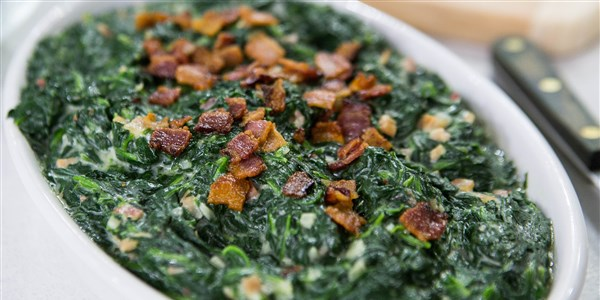 Al Roker's Creamed Spinach with Bacon