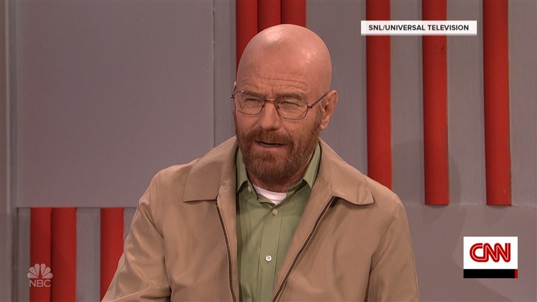 Bryan Cranston reprises 'Breaking Bad' role on 'SNL'
