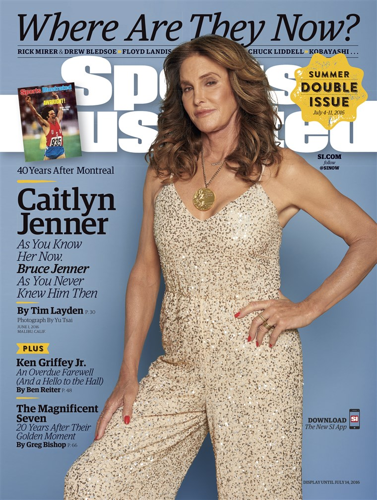 Caitlyn Jenner's Sports Illustrated cover
