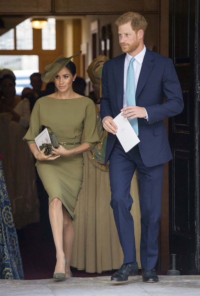 Brytania's Prince Harry and Meghan
