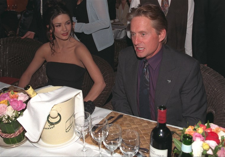 Catherine Zeta-Jones and Michael Douglas at Deauville Festival