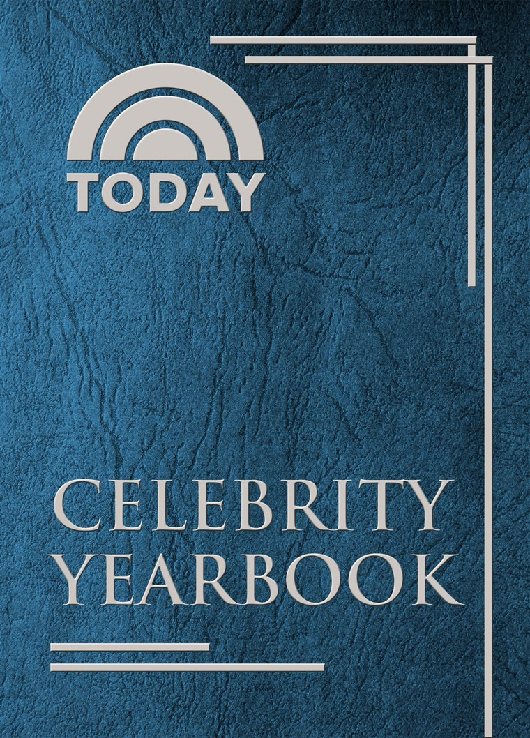VANDAAG celebrity yearbook cover