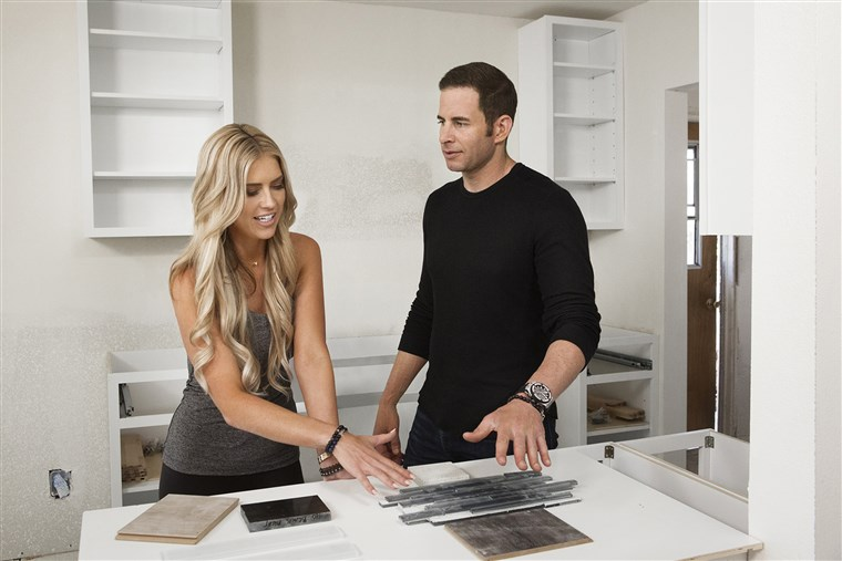 Christina El Moussa and Tarek El Moussa on