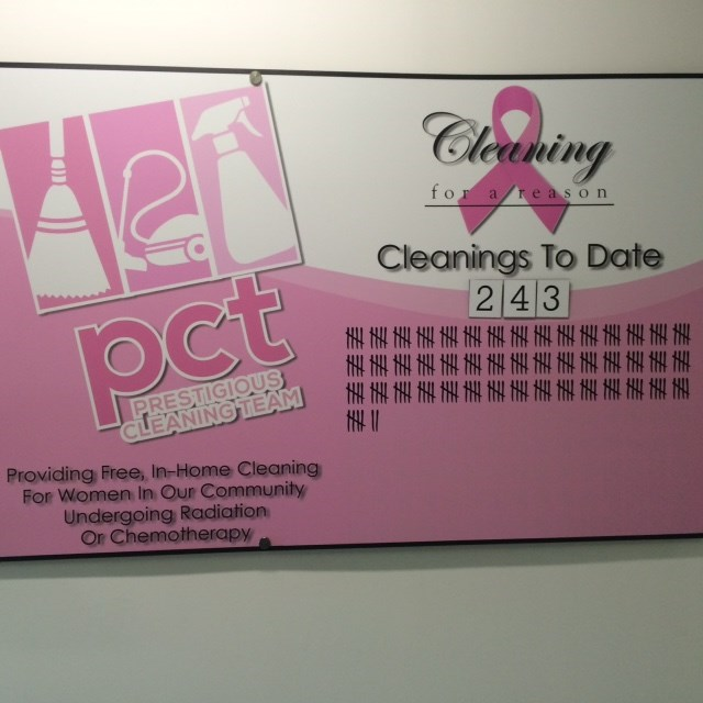 PCT Clean helps women with cancer