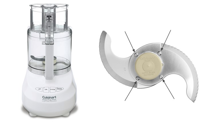Cuisinart Food Processors Recalled by Conair Due to Laceration Hazard