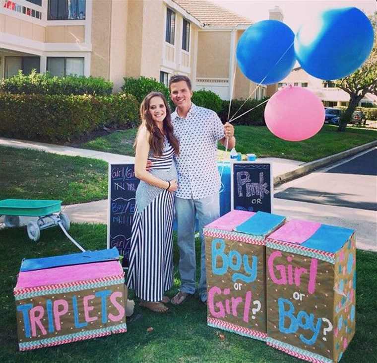 Na struggling with infertility, Desiree and Ryan Fortin had triplets