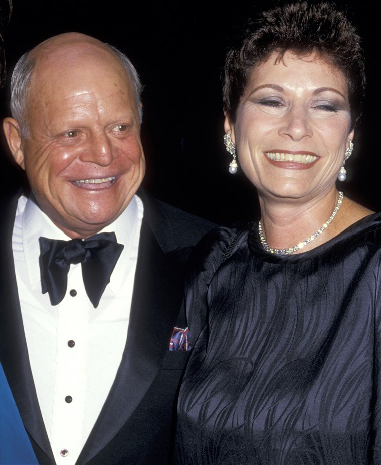 Don Rickles and wife Barbara Sklar