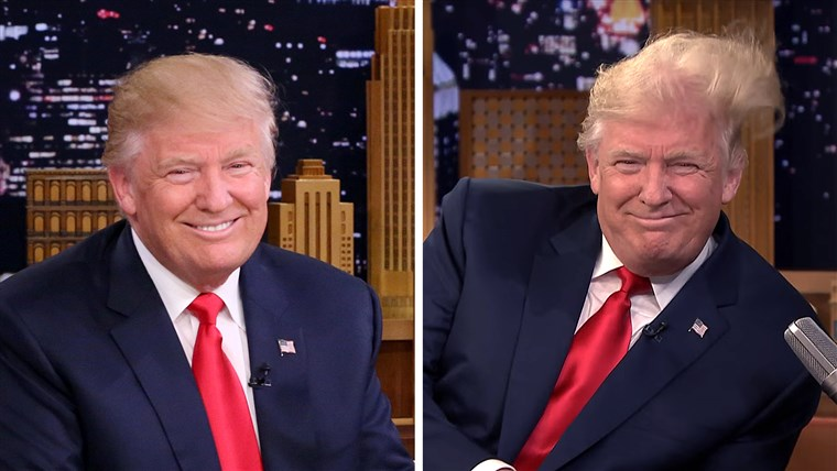Donald Trump on Jimmy Fallon