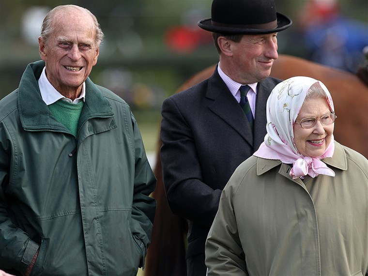 Image: Prince Philip and Queen Elizabeth II attend the Royal Windsor Horse Show