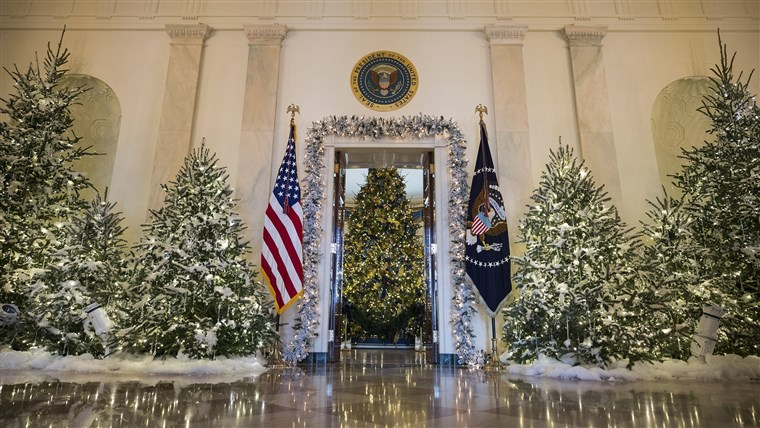 Bilde: Holiday Decor at the White House