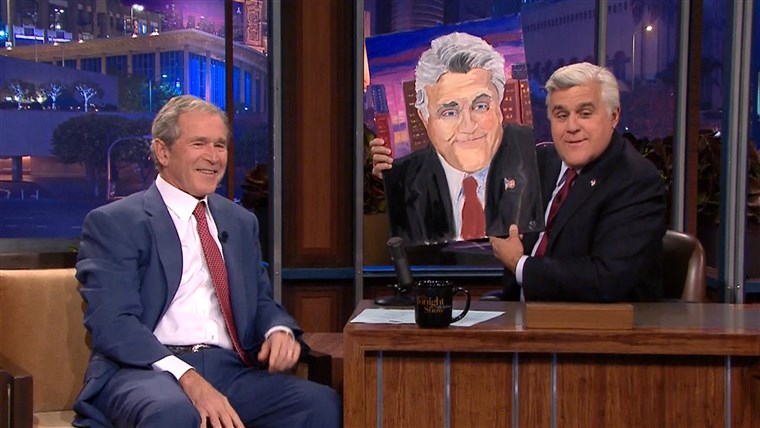 George W. Bush, Jay Leno