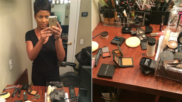 Tiga puluh minutes or less: The Tamron Hall Makeup Rule.