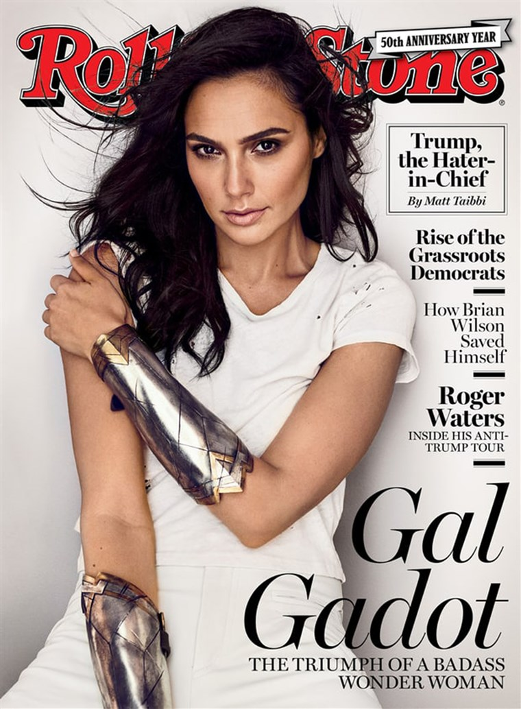 Gal Gadot, Rolling Stone Cover - September 2017