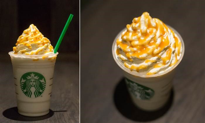 Off the menu Starbucks drink: Butterbeer frappuccino