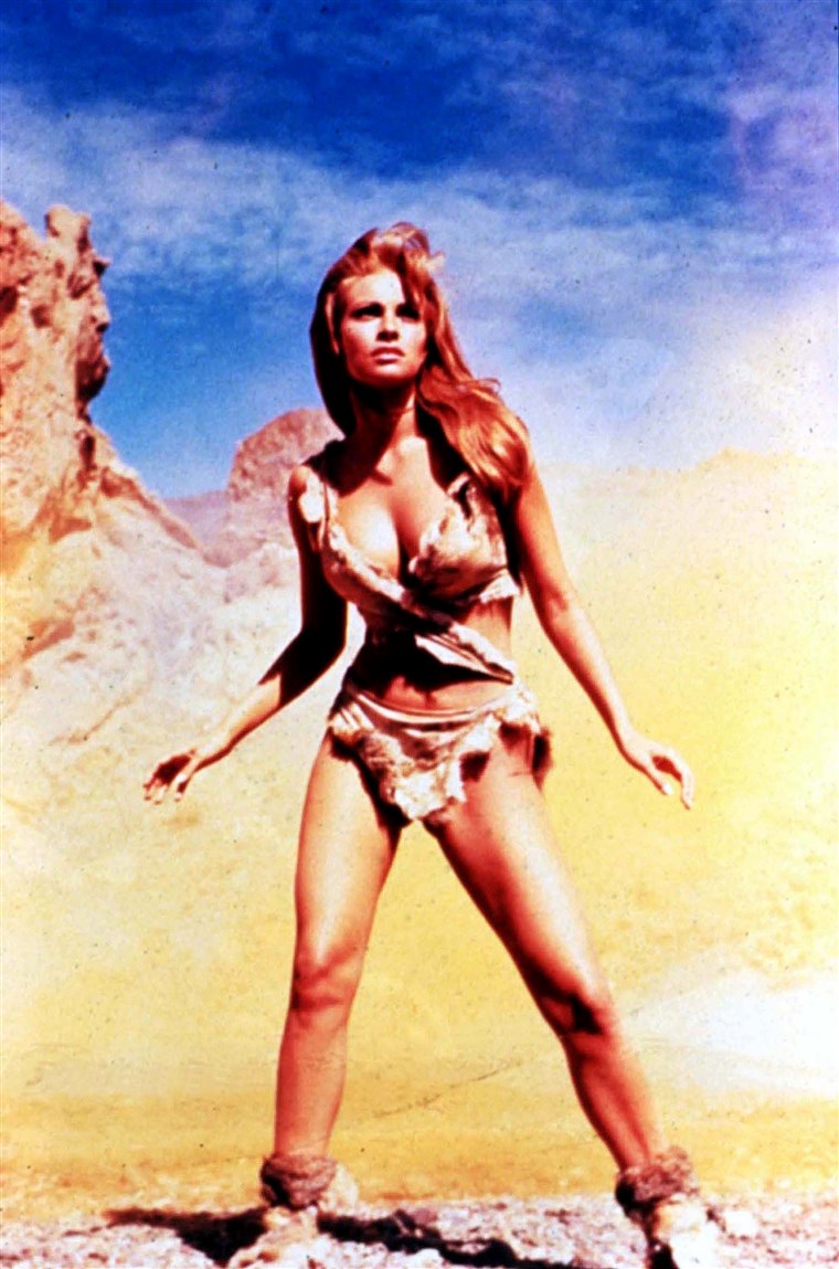 SATU MILLION YEARS B.C. (BR1966) RAQUEL WELCH Picture from t