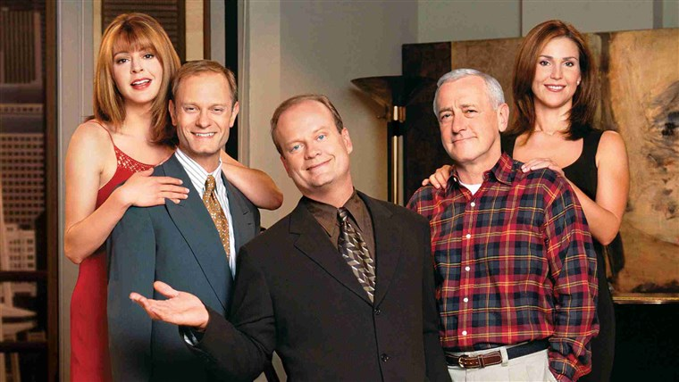 Obraz: TELEVISION COMEDY SERIES FRASIER FINALE TO BE TELECAST MAY 13