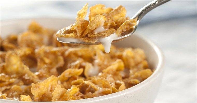 Bolle of cereal