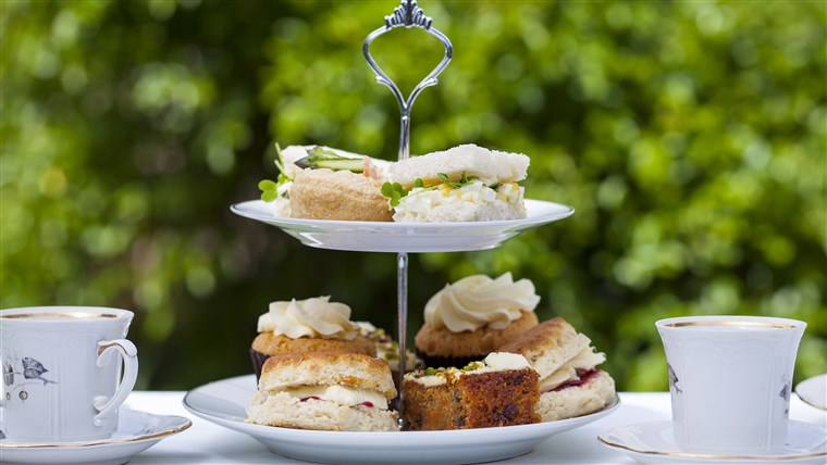 Tradisjonell English afternoon tea