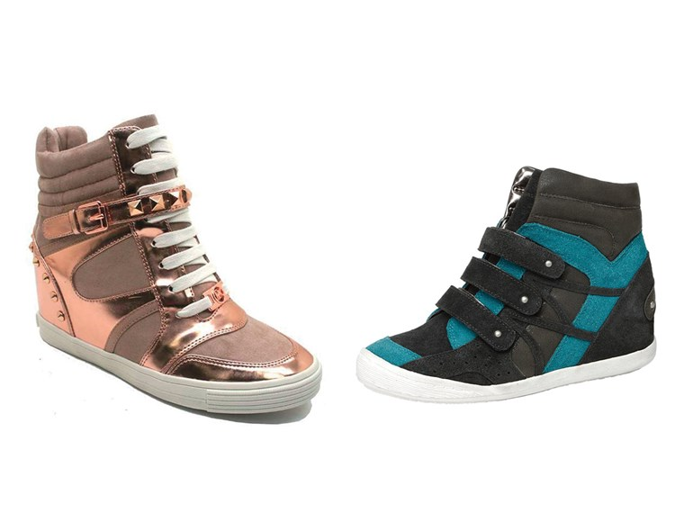 Sneaker styles from Michael Kors and Kenneth Cole.
