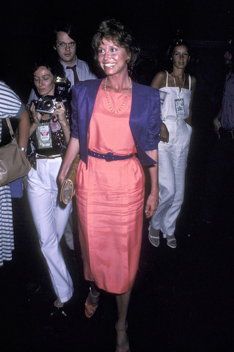 Maria Tyler Moore at the 1980 Democratic National Convention