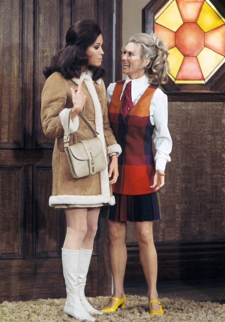 Maria Tyler Moore on the premiere episode of 'The Mary Tyler Moore Show'