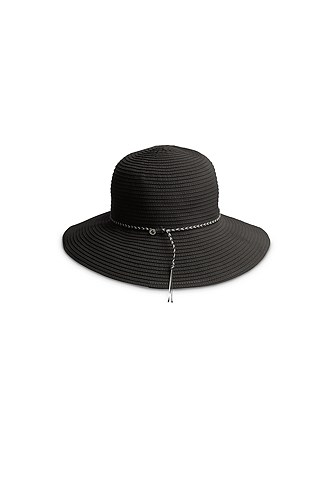 a broad-brimmed hat will help protect your scalp from the sun