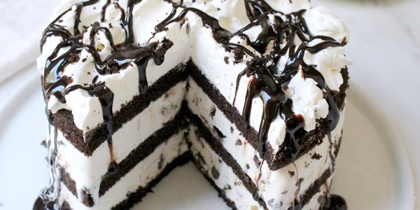 5-Bahan Mint Chocolate Chip Ice Cream Cake